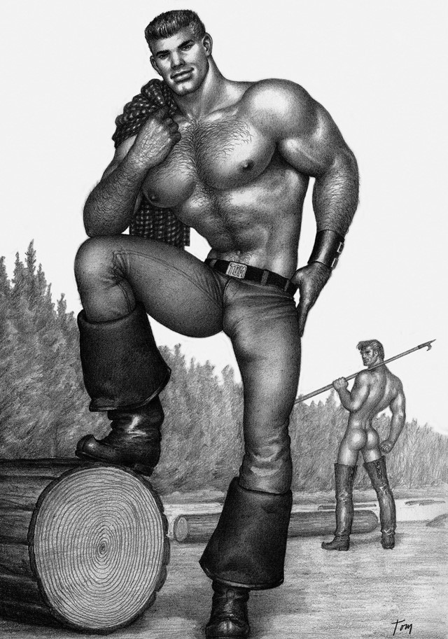 Tom of Finland illustration