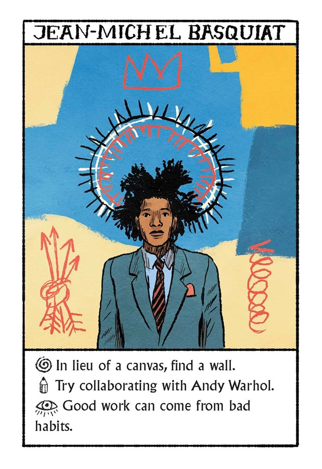 Imagining Warhol, Basquiat, Kahlo & Dali as Oracles