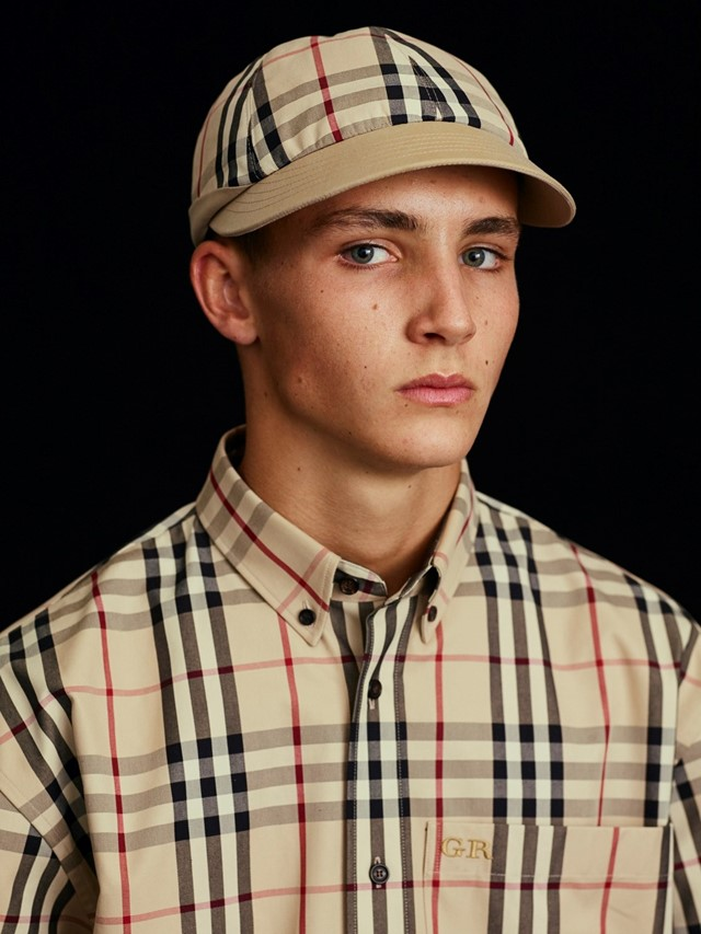 Burberry gosha rubchinskiy collaboration ss18