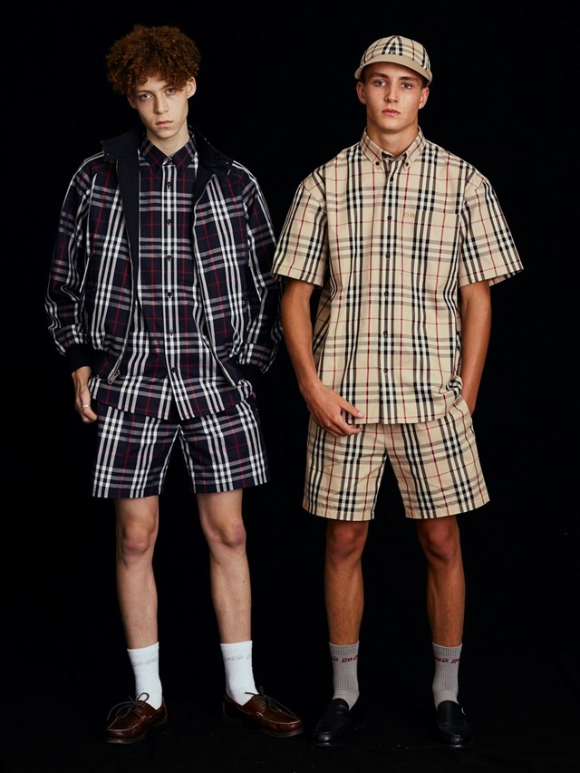 Burberry gosh rubchinskiy collaboration ss18