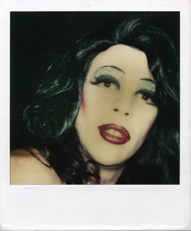 Christopher Makos's Polaroids