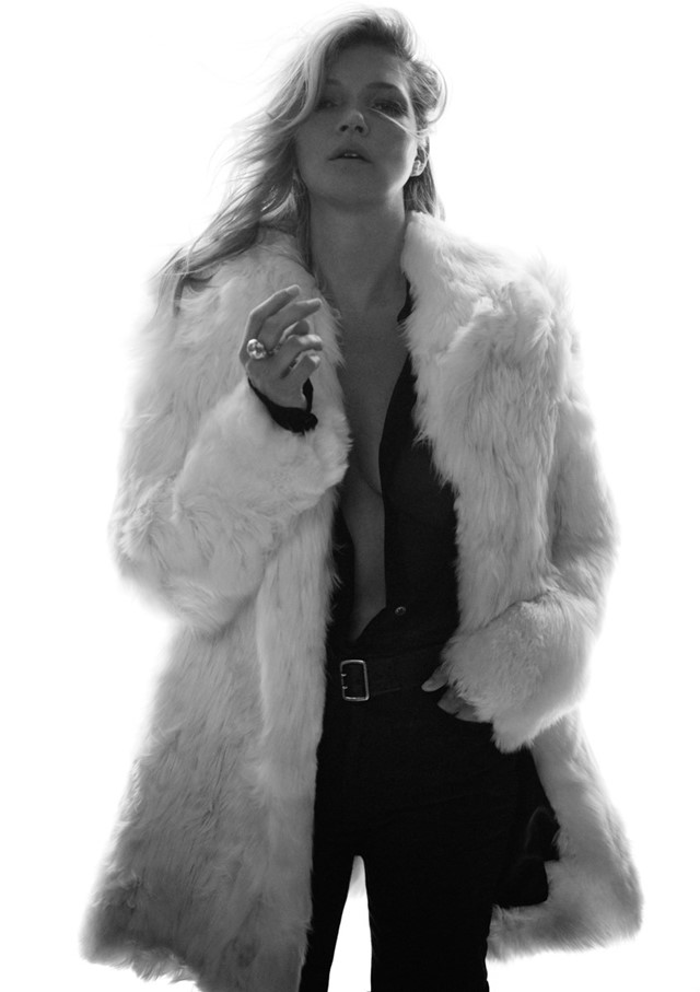 saint laurent ss18 anthony vaccarello kate moss david sims