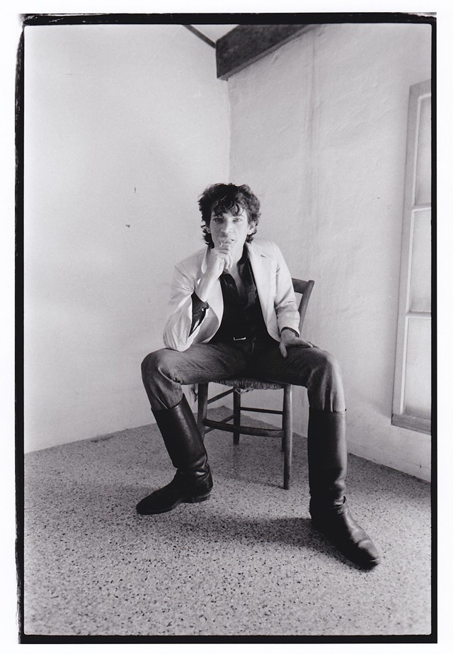 Robert Mapplethorpe & Sam Wagstaff by Teresa Engle