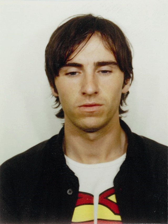 Raf Simons passport photograph