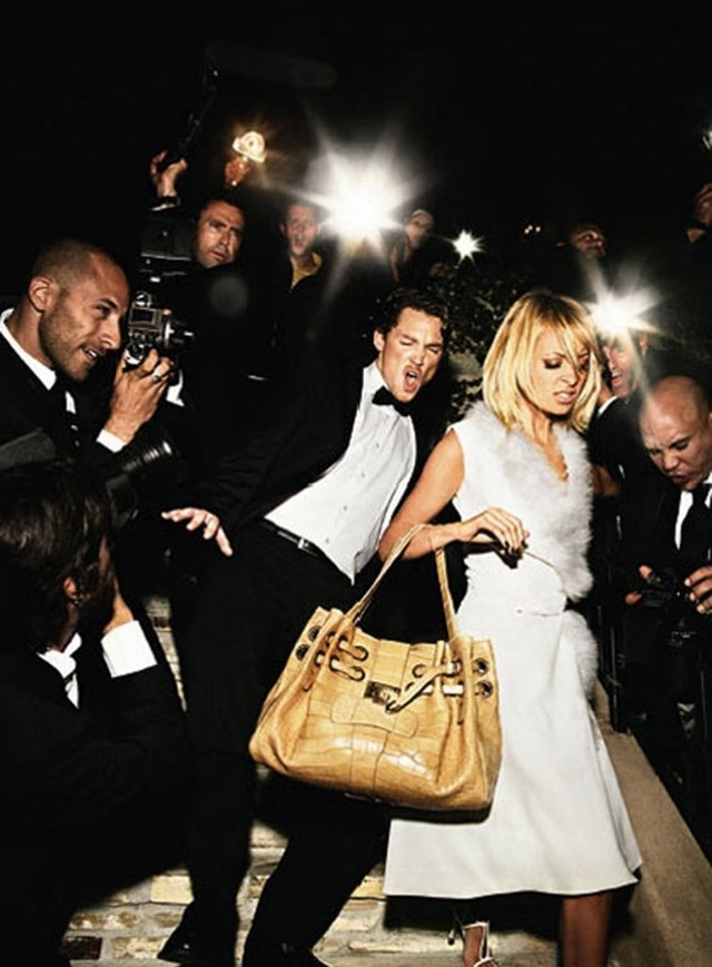 Nicole Richie for Jimmy Choo paparazzi campaign
