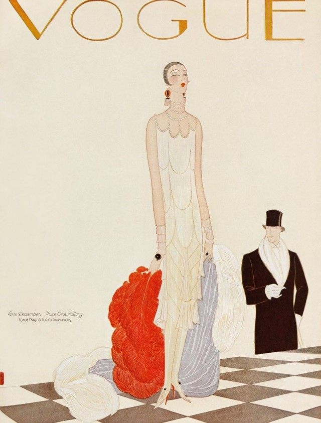 British Vogue cover, December 1925