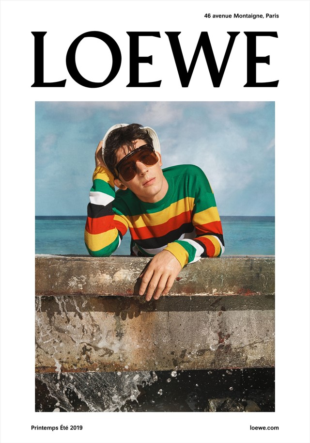 Loewe ss19 campaign Jonathan Anderson Steven meisel