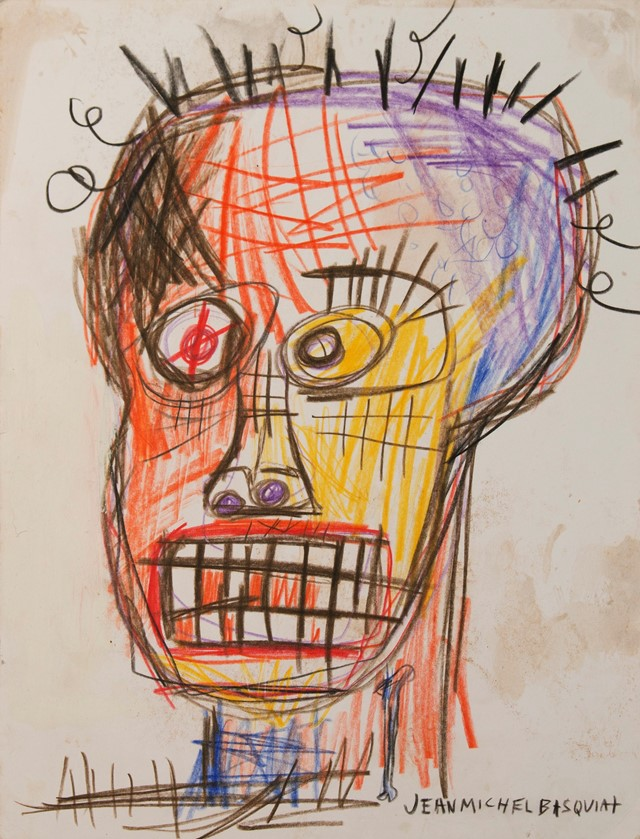 Basquiat sketch
