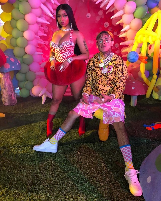 Nicki Minaj and 6ix9ine