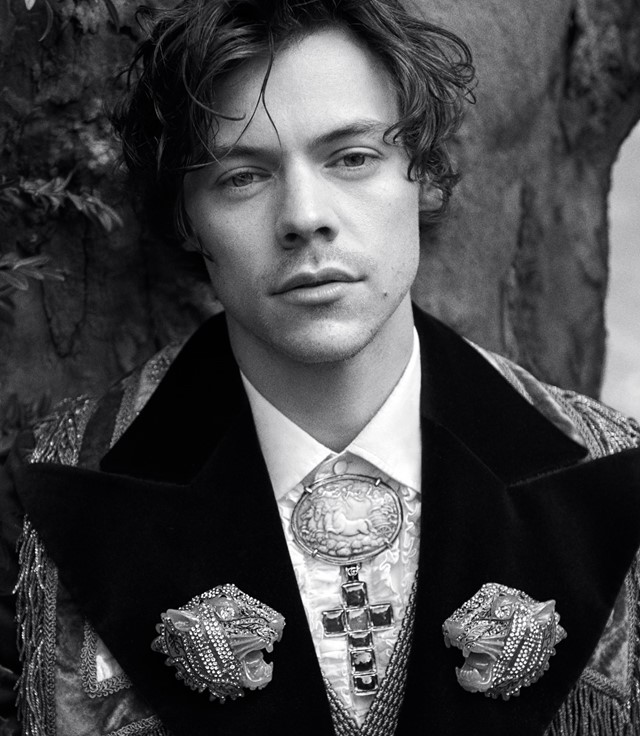 gucci cruise 2019 campaign harry styles glen luchford