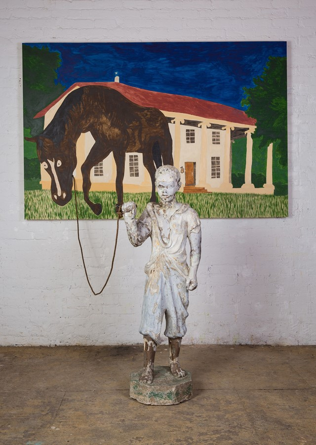 Chase Hall's You can lead a horse to water