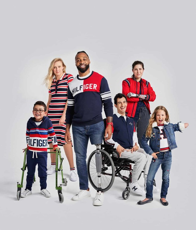 Tommy Hilfiger Adaptive AW18 Campaign