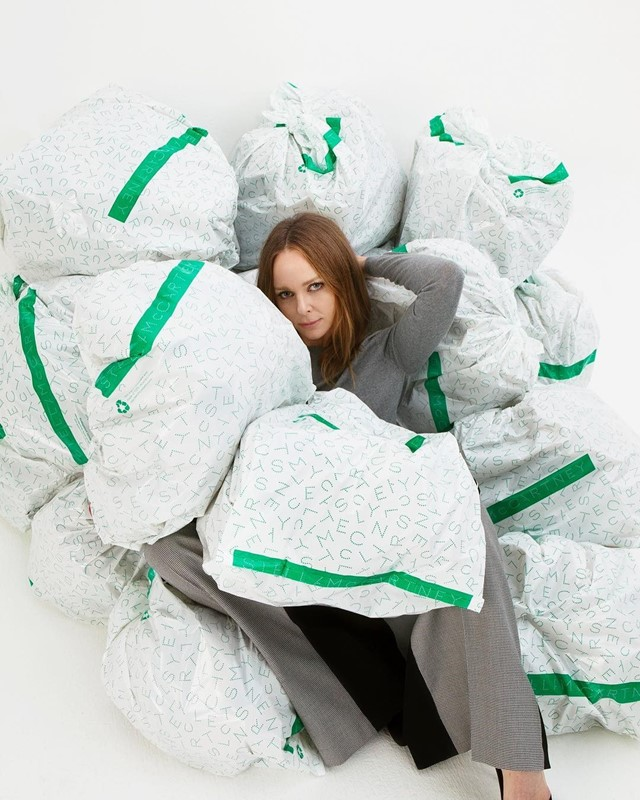 Stella McCartney is teaming up with the UN to clean up fashion
