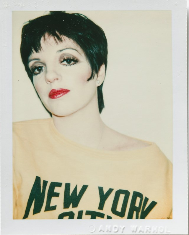 Andy Warhol, Liza Minelli, 1977, Polacolor Type 10