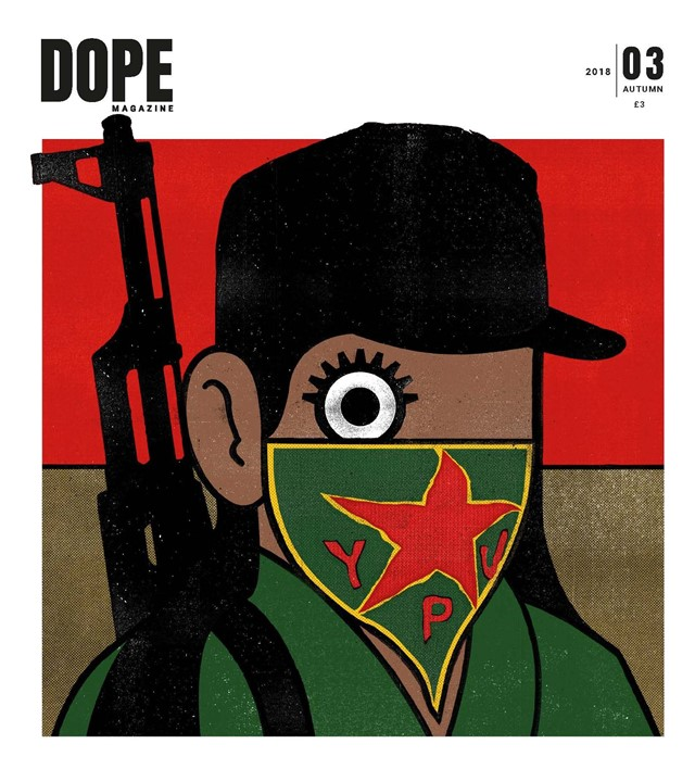 DOPE's issue four cover