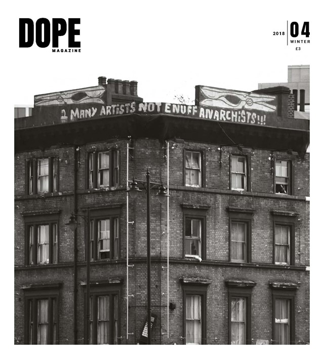 DOPE's front cover