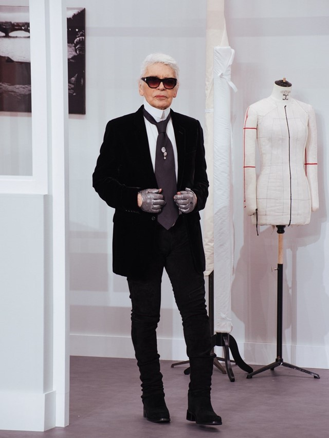 karl Lagergeld Chanel couture aw16