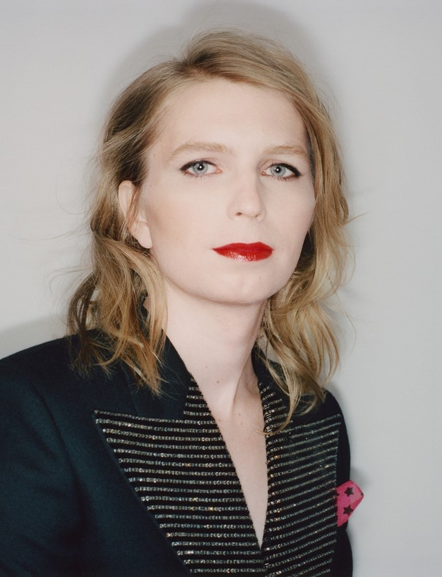 Chelsea Manning for Dazed