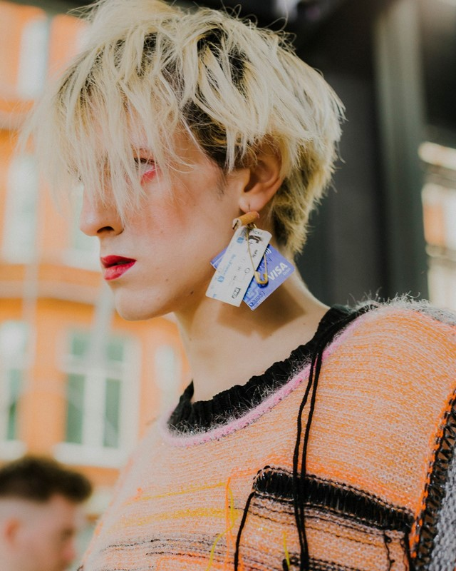 RCA Fashion 2019 Royal College of Art Dazed Backstage