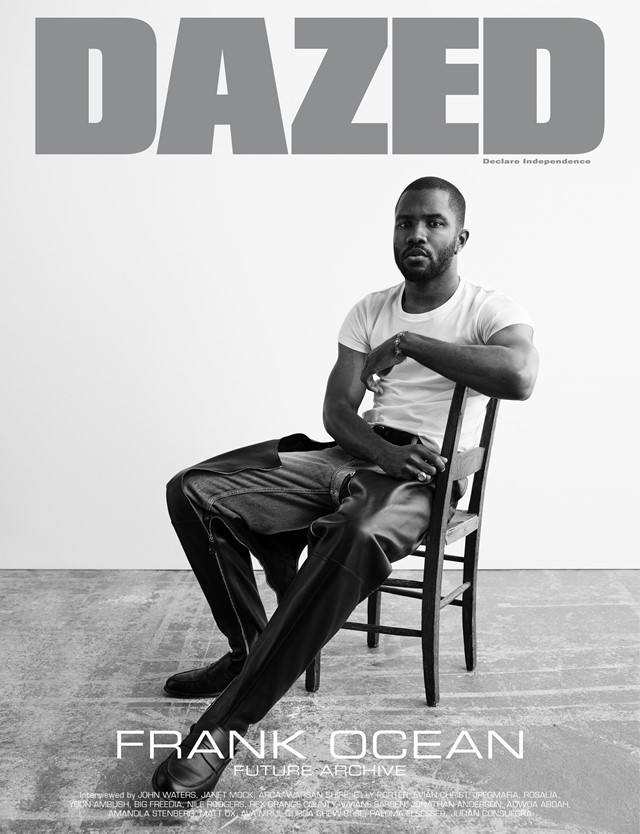 Dazed Futuretopia Frank Ocean cover