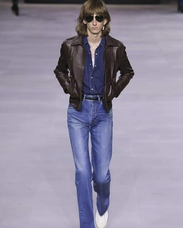 Here's what went down at Hedi Slimane's latest Celine menswear show