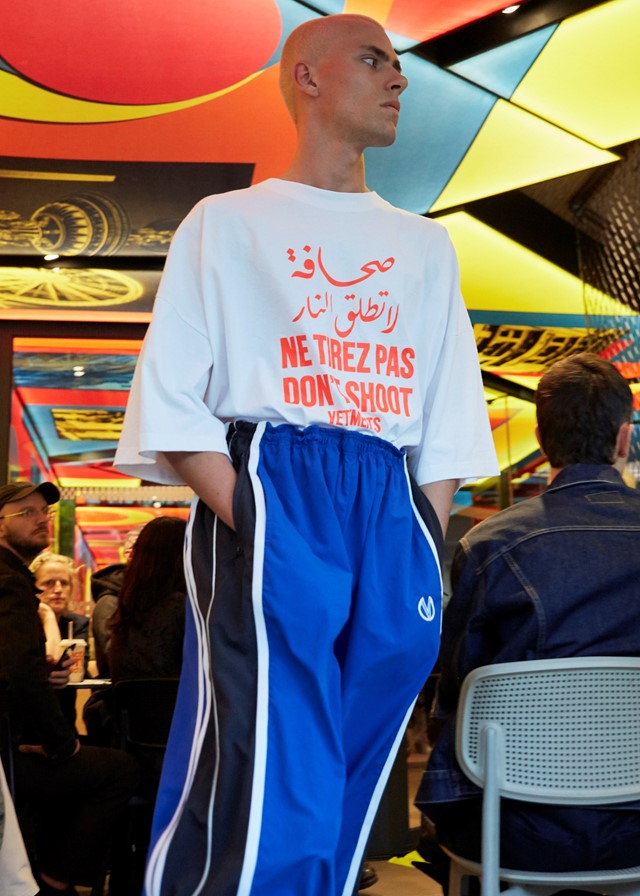 vetements ss20 demna gvasalia paris fashion week pfw