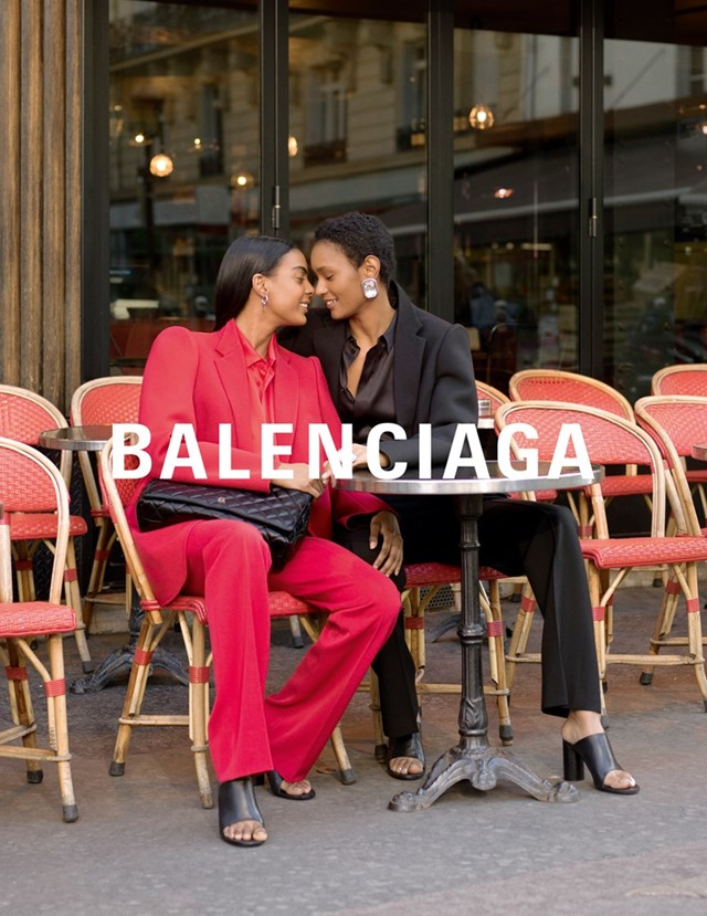 Balenciaga Fall Winter 2019 campaign lovers Paris 5