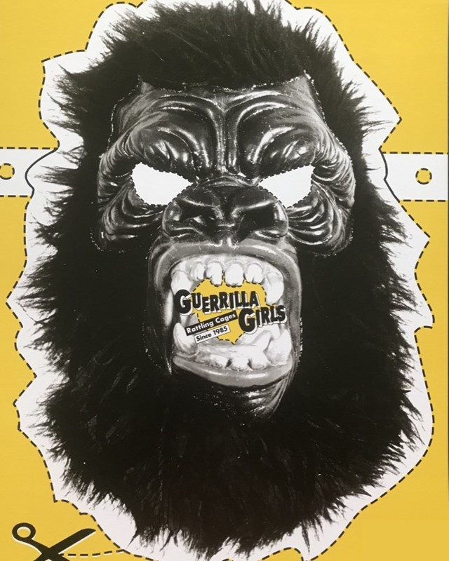 Guerrilla Girls join artists protesting the world's biggest arms fair