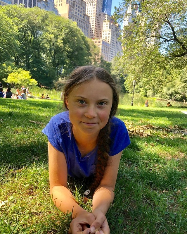 Greta Thunberg in US