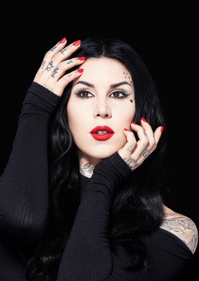 Kat Von D the tattooed beauty mogul creating the industry