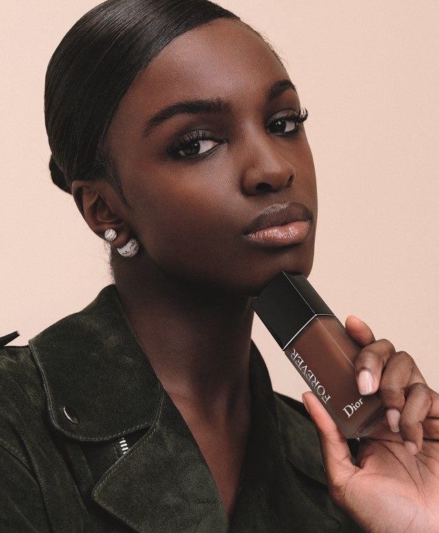 dior forever foundation jorja smith leomie anderson