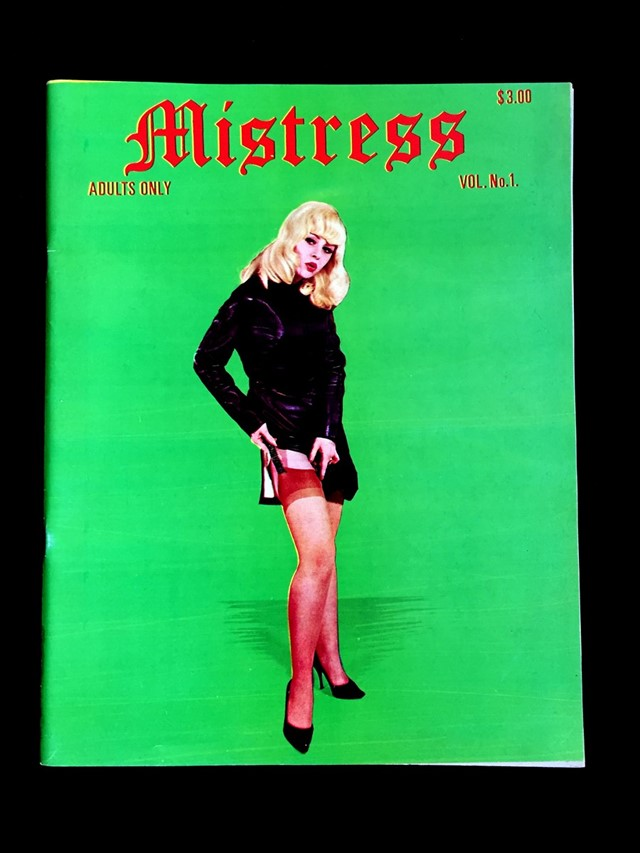 Mistress erotica fetish magazine