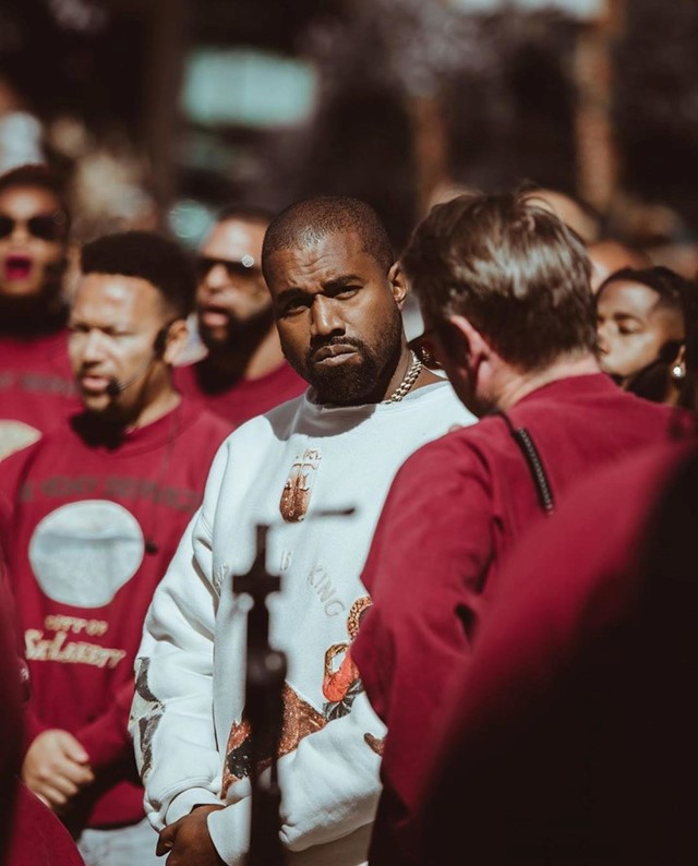 Kanye West's Sunday Service compared to Fyre Festival