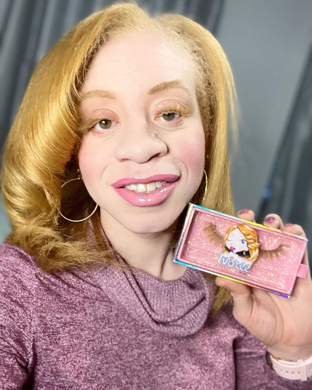 Ivoree Beauty is the new brand catering for people with albinism