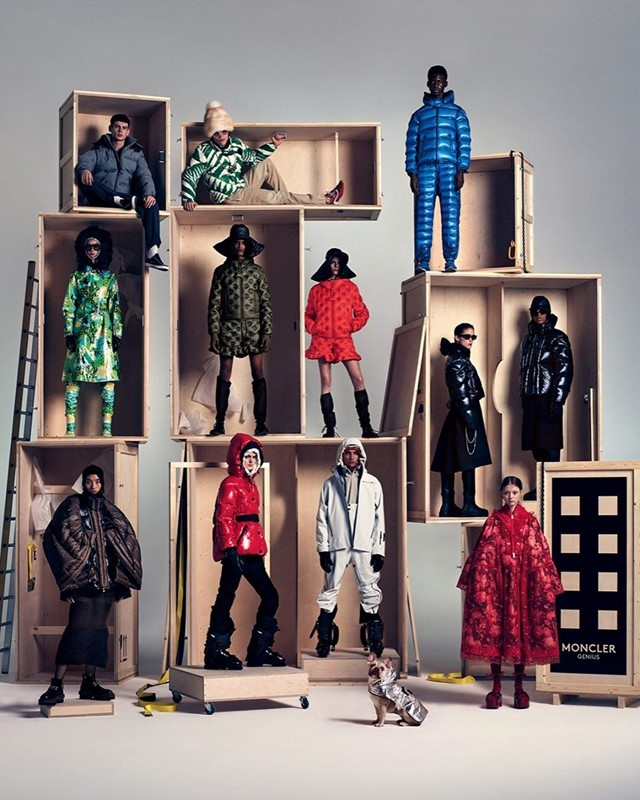 Moncler Genuis line up 2020 Jonathan anderson