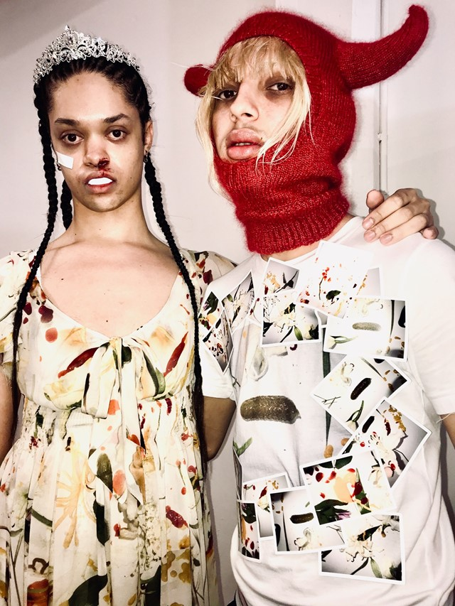 Backstage at the AW20 Fashion East London Fashion Week