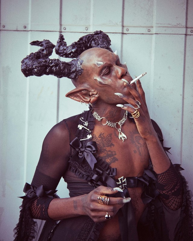 Yves Tumor - behind the scenes of Gospel for a New Century