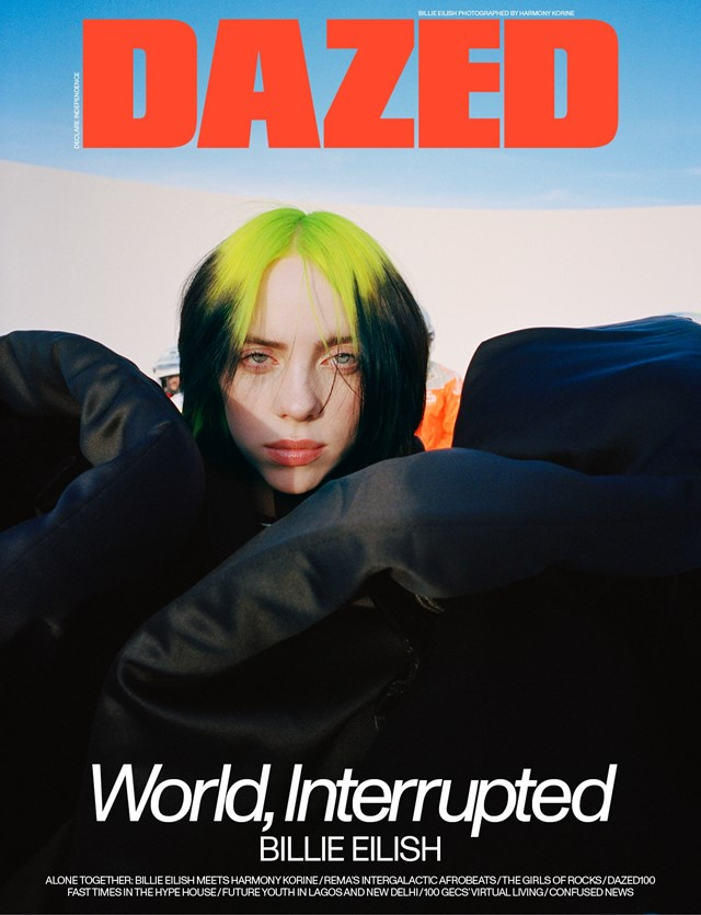 Get a free copy of Dazed's Billie Eilish issue and poster