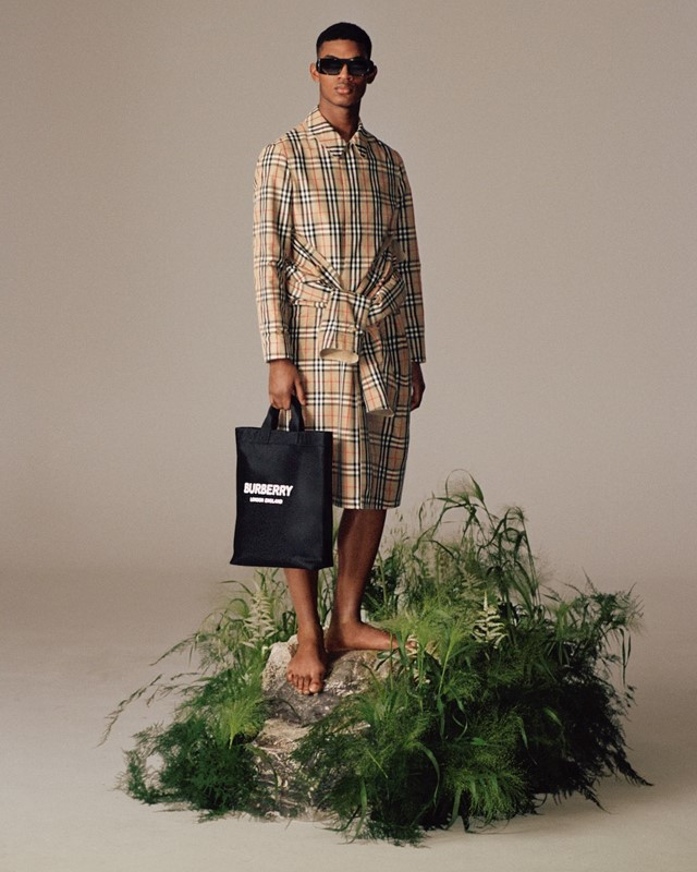The ReBurberry Edit Burberry earth day sustainability ss20