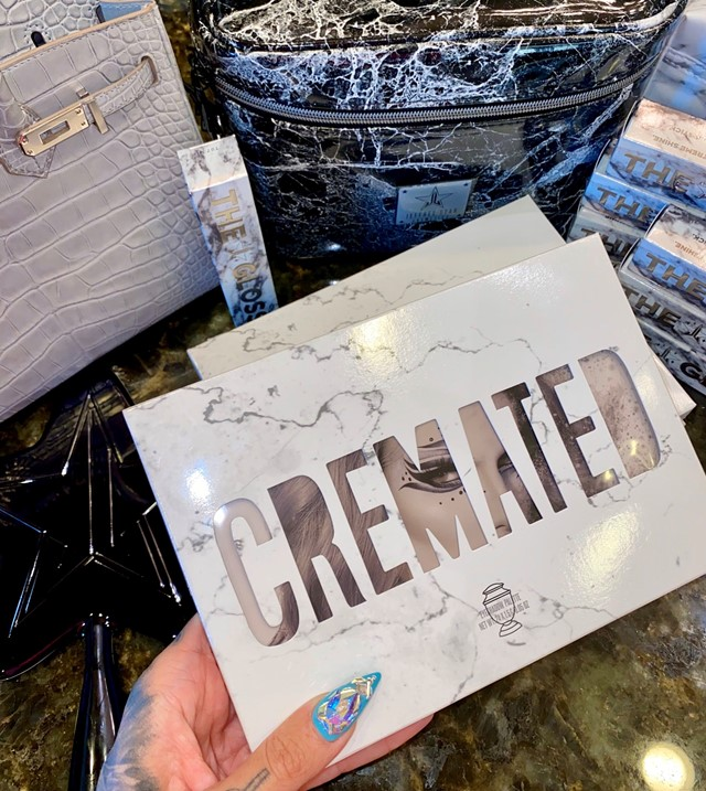Jeffree Star palette controversy cremated