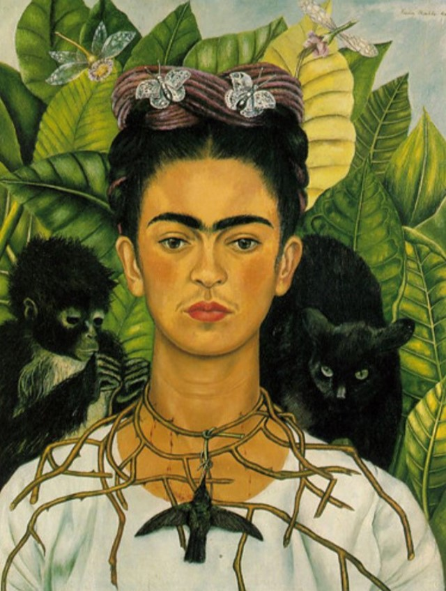 "Frida Kahlo's ""Self-Portrait"" (1940)"