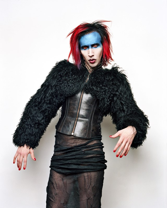 Marilyn Manson by Perou. 21 Years in Hell