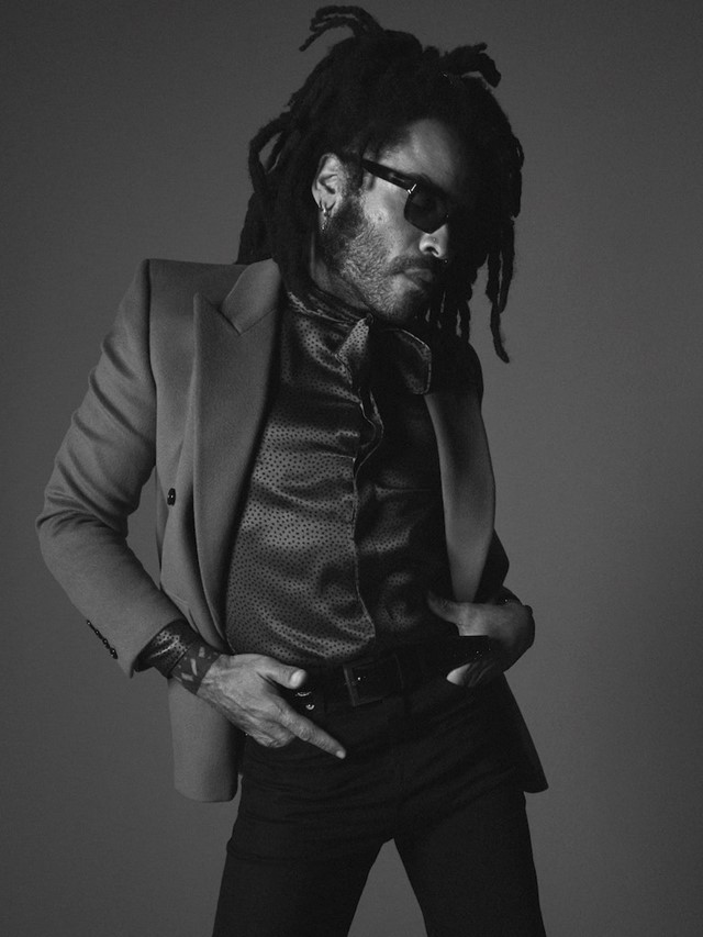 Lenny Kravitz David Sims Saint Laurent