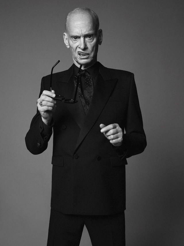 John Waters is the new face of Saint Laurent