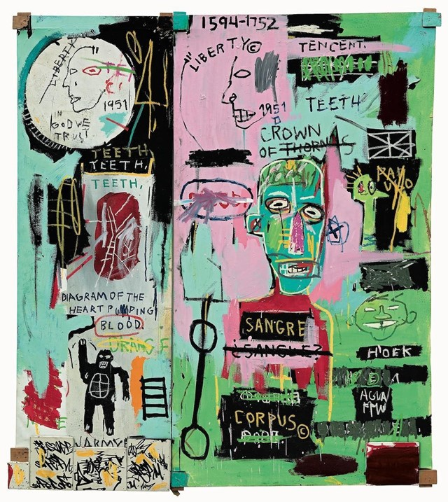 Jean-Michel Basquiat's most famous works in a virtual show