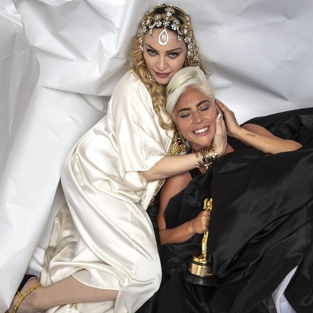 MADONNA AND GAGA'S ONGOING FEUD