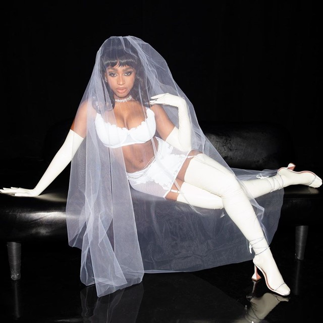 NORMANI AS 'THE BRIDE'