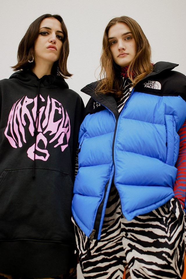 Margiela's MM6 x The North Face line landed