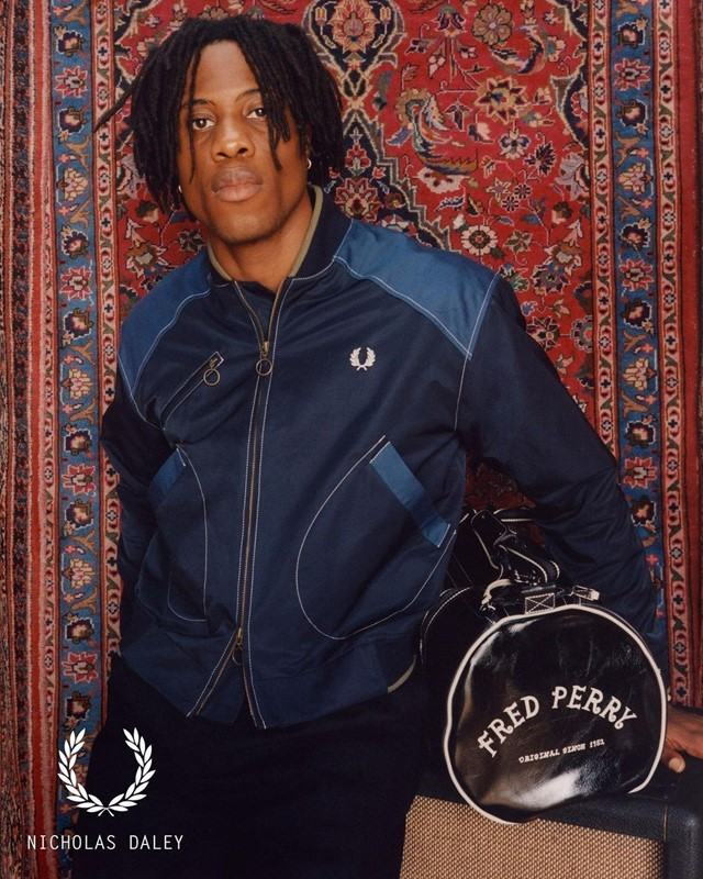 Nicholas Daley and Fred Perry are supporting young musicians