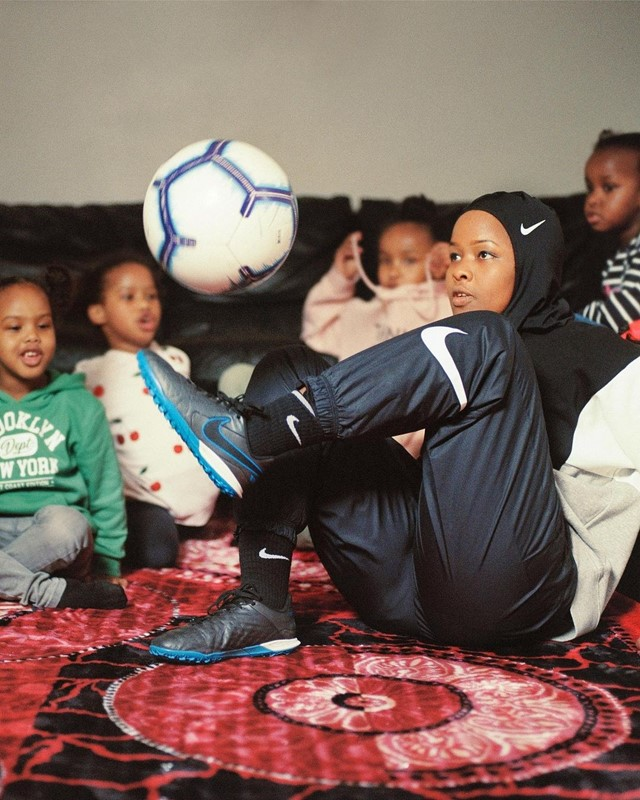 Nike launched 'Girls are Made to Play'